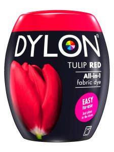 Dylon All-In-1 Fabric Dye Pod in Tulip Red