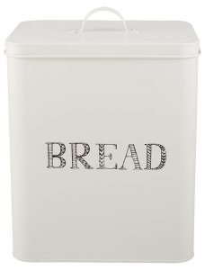 Creative Tops Stir It Up Bread Storage Tin White
