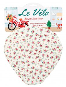 Rex La Petite Rose Bicycle Seat Cover