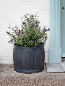 Garden Trading Bathford Planter, Large H44cm - Fibre Clay