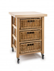 Hungerford Trolleys The Lambourn 3 Drawer Vegetable Store