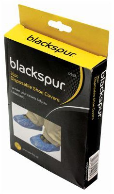 Blackspur 30 Piece Disposable Shoe Covers
