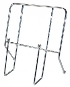 Apollo Housewares Chrome Cookbook Holder
