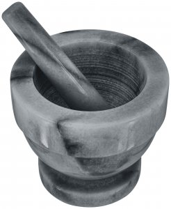 Judge Marble Mortar & Pestle 13 x 11.5cm - Grey