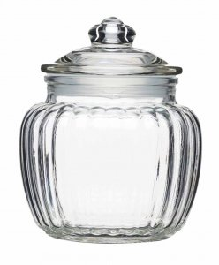 Home Made Multi Purpose Glass Storage Jar 600ml