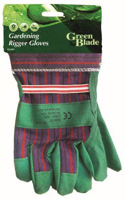 Green Blade Gardening Rigger Gloves