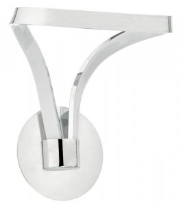 Dar Killian Wall Light Polished Chrome & Acrylic LED