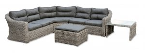 Garden Trading Lodsworth Corner Sofa Set - All-Weather Rattan