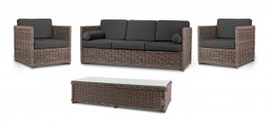 Garden Trading Harting Sofa Set - All-Weather Rattan
