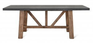 Garden Trading Chilson Table, Large - Cement Fibre