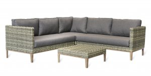 Garden Trading Walderton Corner Sofa Set - All-weather Rattan