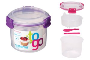 Sistema Breakfast To Go 530ml - Assorted Colours