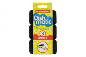 Dishmatic® Refills 3pk - Extra Heavy Duty