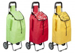 Metaltex Daphne Shopping Trolley (Assorted Colours)