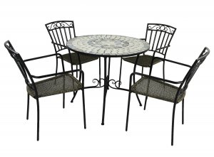 Summer Terrace Verde Patio 90cm Set - Modena