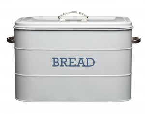 Kitchen Craft Living Nostalgia Bread Bin French Grey