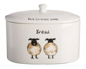Price & Kensington Back To Front Bread Crock