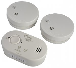 Kidde Twin Smoke and Carbon Monoxide Alarm Set