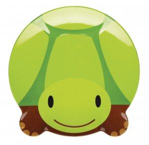 Let's Make Toby Turtle Shaped Melamine Plate 20cm