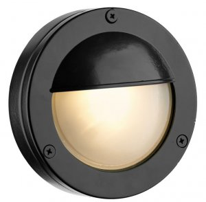 David Hunt Bembridge Round Wall Light Oxidised IP44