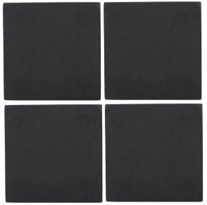 Creative Tops Naturals Slate Coasters (Set of 4)
