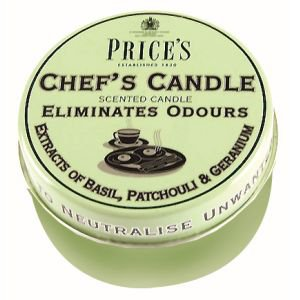 Price's Fresh Air Scented Candle Tin - Chef's