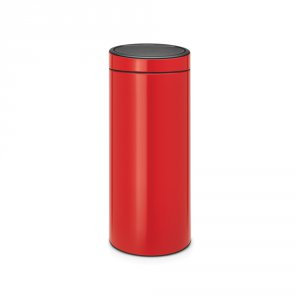 Brabantia Touch Bin 30 Litre Passion Red