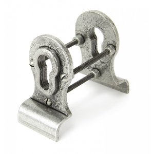 Pewter 50mm Euro Door Pull (Back to Back fixings)