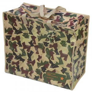 Fun Practical Laundry & Storage Bag - Camouflage Design