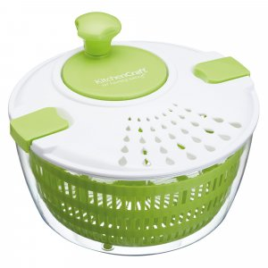 KitchenCraft Healthy Eating Salad Spinner 25cm
