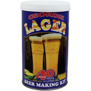 Geordie Beer Making Kit (40 Pints) - Lager