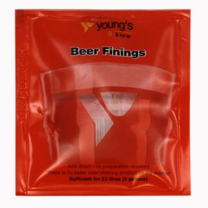 Young's Ubrew Beer Finings (Sufficient for 23lt)