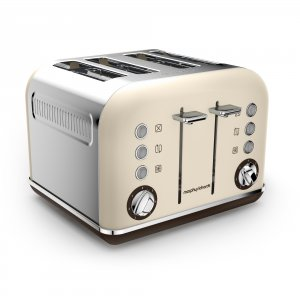Morphy Richards Accents 4 Slice Premium Toaster Sand