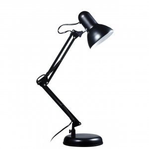 Studio Adjustable Black Desk Lamp