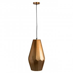 Aluminium Copper Finish Pendant Light