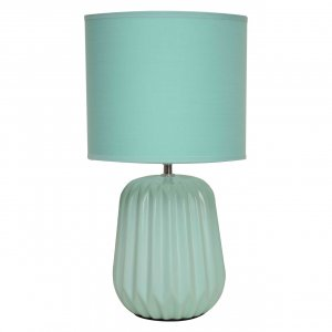 Winola Ceramic Turquoise Table Lamp
