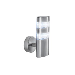 Searchlight LED Satin Silver Oval Wall Bracket