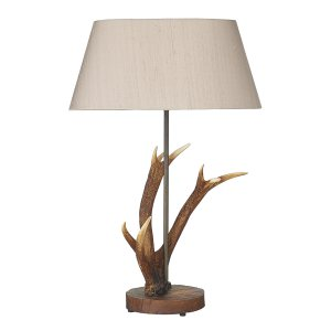 David Hunt Antler Small Table Lamp - Base Only