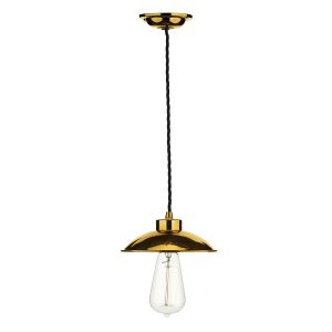 David Hunt Dallas 1 Light Pendant Copper