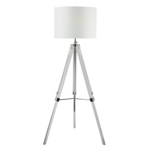 Dar Easel Tripod Floor Lamp White - Base Only