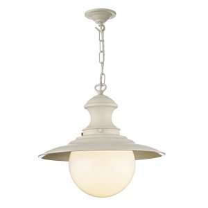 David Hunt Station Lamp Cream (Spare Glass for SL9)