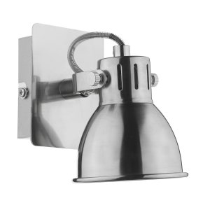 Dar Idaho Single Wall Bracket GU10 Natural Chrome