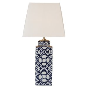 Dar Mystic Table Lamp blue/ White - Base Only