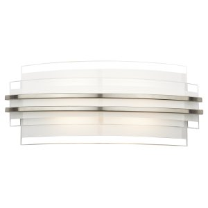 Dar Sector Double Trim LED Wall Bracket Large