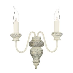 David Hunt Verona 2 Light Wall Bracket Shades Sold Separately