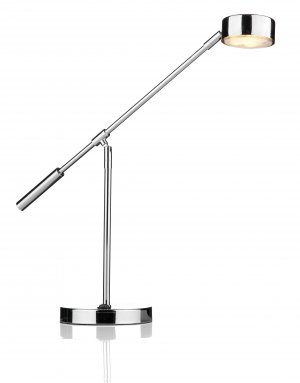 Dar Cruise Table Lamp Polished Chrome with GX53 LED