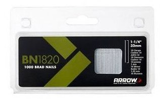 Arrow Brown Head Brad Nails 2000