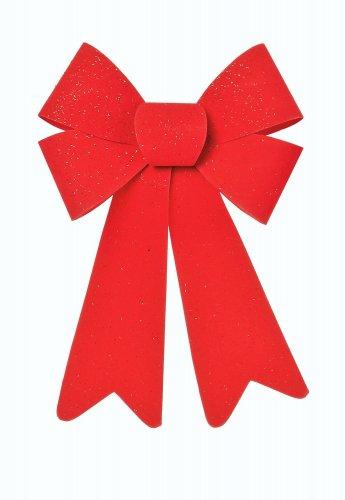 Premier Decorations Red PVC Bow 25 x 15cm