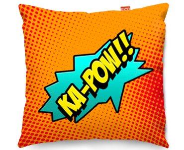 Kico Comic Pop Art 45x45cm Funky Sofa Cushion Ka Pow At