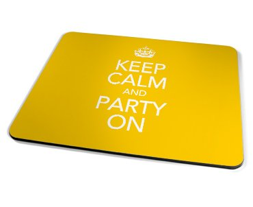 Kico Keep Calm Placemat - Party On